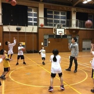 生野スポーツセンター子どもバスケットボール教室