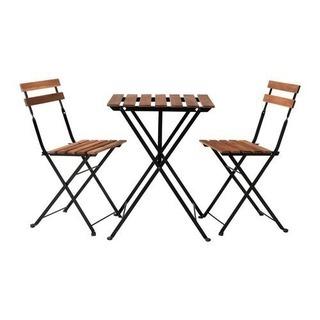 【取引者決定済】IKEAガーデンテーブル、イス