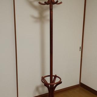 アンティーク 西洋風木製コートハンガー