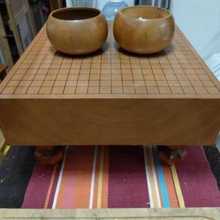 碁石と碁盤