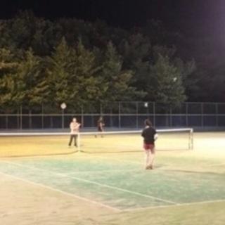 硬式テニスサークル、メンバー募集!11/22(木)19:00〜21...