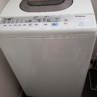 7kg洗濯物 日立
