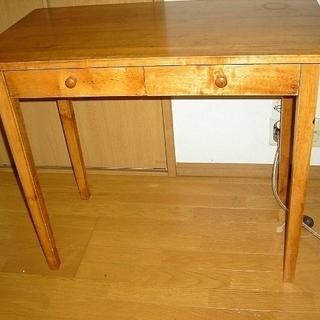 木製デスク?テーブル 譲ります
