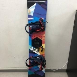 スノーボードSALMON板+バインディングセット