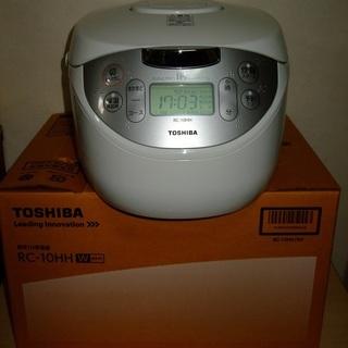 ★TOSHIBA IH保温釜/炊飯器 1L美品 2015年購入