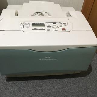 !!訳あり!!レーザープリンターNEC MultiWriter8250N