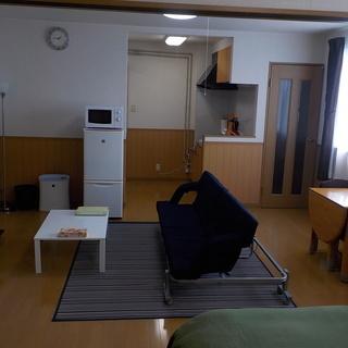 マンスリー・ウィークリーでのご契約が可能な家具・家電付の禁煙ルームです。