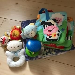 ファミリア、ミキハウス、アンパンマンなどの新生児おもちゃ