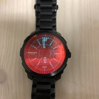 ディーゼル 腕時計 DZ-1737 美品!