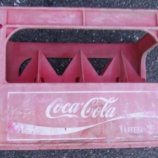 コカ・コーラのビン箱 レトロ
