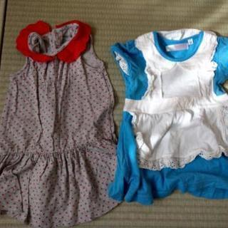 【値下げ】サイズ80 女の子夏服7枚