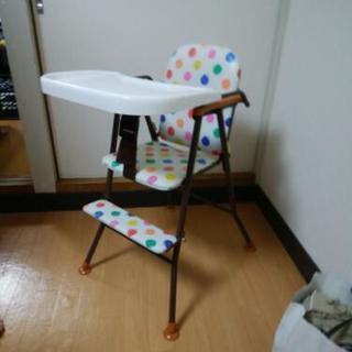 新品未使用★子供用食事椅子