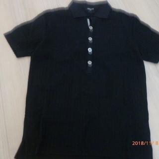 【値下げ! 美品】COMME CA ISM ポロシャツ Mサイズ(黒)