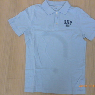 値下げしました!【美品】GAP ポロシャツ (水色)XSサイズ