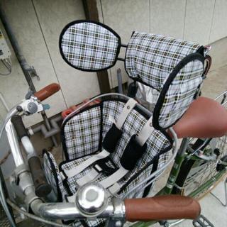 ブリジストン 前かご用自転車チャイルドシート