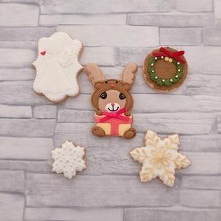 クリスマス アイシングクッキーレッスン