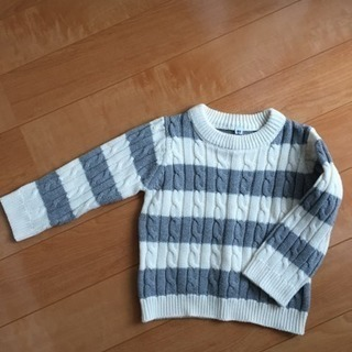 取引中[無料]セーター 90センチ