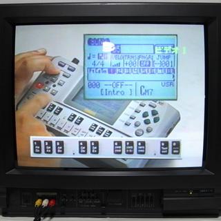 ブラウン管テレビ 動作確認済み リモコン付属 SHARP 21型...
