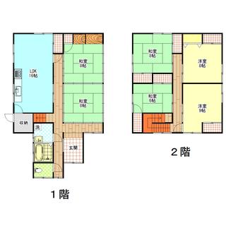 ★一戸建て賃貸★ゆとりの広さ6SLDK、165.62㎡!★石川県中...