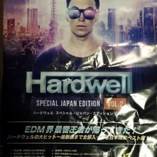 非売品 DJハードウェル♪Hardwell EDM 販促 ポスター