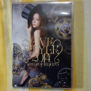 【新品同様】安室奈美恵 LIVE STYLE2014 豪華版2枚...