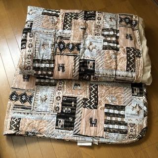 こたつ布団&敷きマット(大阪西川製)