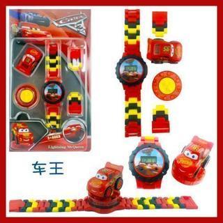 ★新品★レゴ風♪かわいいカーズの腕時計(*^^*)♪子供用おもち...