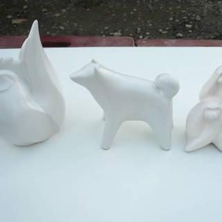 動物 陶器 セット