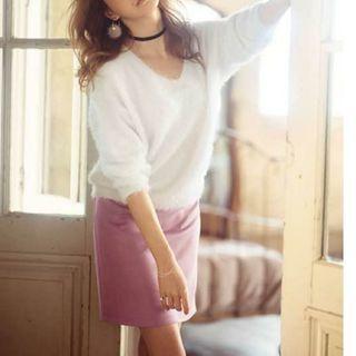 【GRL】モーヴピンク タイトスカート