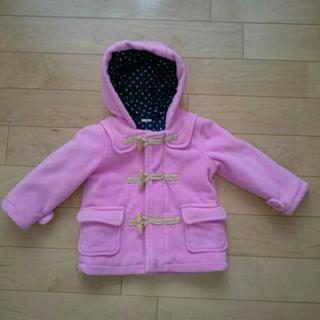 🔹【試着のみ、美品】サイズ95  ピンク色のダッフルコート