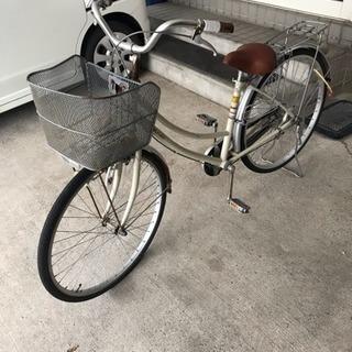 26インチ 自転車あげます。