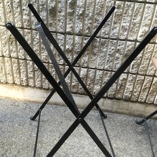 ★【中古】屋外用テーブル 椅子 5点セット IKEA テルノー アウトドア - 売ります・あげます