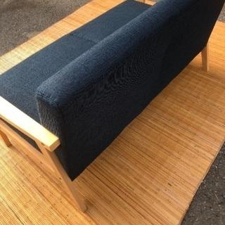 未使用品✨【展示品】北欧風 2人掛けアームソファ - 家具