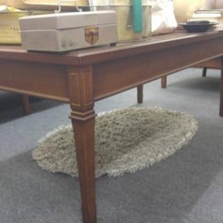 値下げします★maruni (マルニ)の地中海シリーズサテランテ本革張りソファ テーブル3点セット - 家具