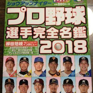 プロ野球選手名鑑 2018