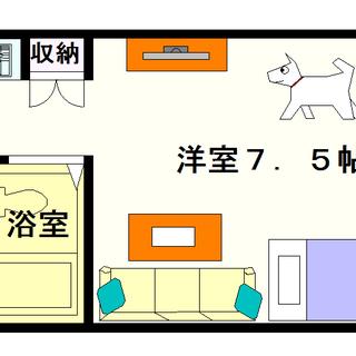 【ラフィナート】1Rタイプ!中型犬が飼育可能ってほとんど無いですよね!