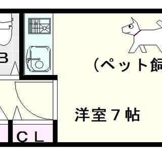 【F難波南】1Rタイプ!収納たっぷり、ペットもOK☆
