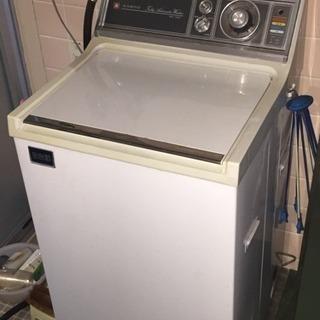 レトロな洗濯機(あげます)