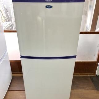 モリタ 2ドア冷蔵庫 MR-F140Bi-WS 2009年製