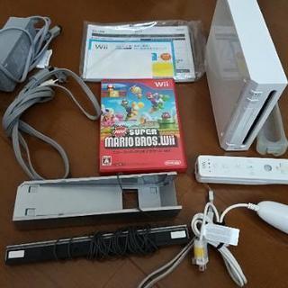 任天堂 Wii  本体など+スーパーマリオ