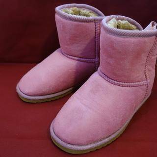 ブーツ ピンク 女の子用 21.0cm