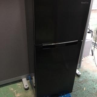 2018年製エスキュービズム2ドア冷蔵庫118L