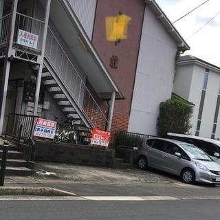 古い木造アパート⭐️2Kが2室で5万円 バス停近