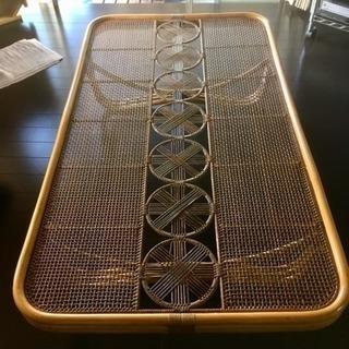ラタン(藤)テーブル 美品!2800円