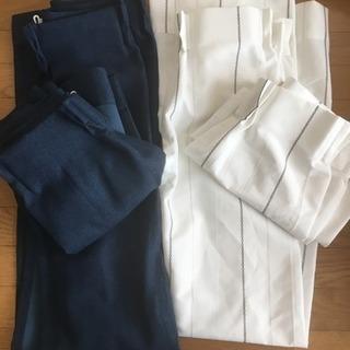 【値下げ】遮光カーテン+レースカーテン(セットで3000円)