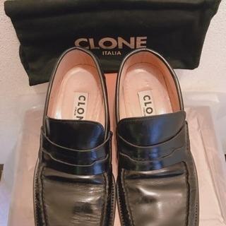 値下げ▼CLONE、イタリア、本革、メンズシューズ、靴、豊中市