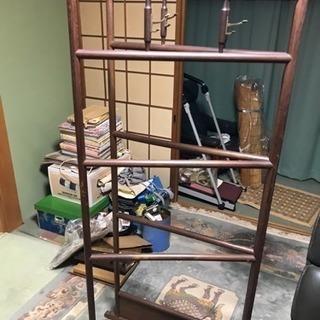 昭和レトロ アンティーク 木製 着物掛け 衣桁