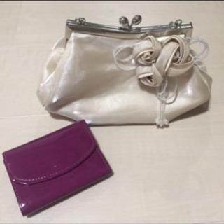 フォーマルバッグ&財布