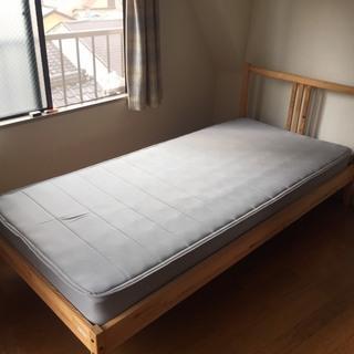 【FJELLSE】IKEAシングルベッド