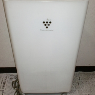 SHARP プラズマクラスター 空気清浄機 中古 稼働品 取説有り